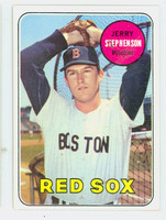 1969 Topps Baseball 172 Jerry Stephenson Boston Red Sox Excellent to Excellent Plus