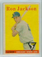 1958 Topps Baseball 26 Ron Jackson Chicago White Sox Excellent to Excellent Plus