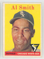 1958 Topps Baseball 177 AL Smith Chicago White Sox Excellent to Mint