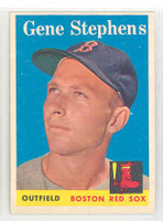 1958 Topps Baseball 227 Gene Stephens Boston Red Sox Excellent to Mint