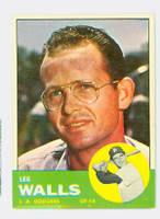 1963 Topps Baseball 11 Lee Walls Los Angeles Dodgers Excellent to Mint