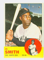 1963 Topps Baseball 16 Al Smith Chicago White Sox Excellent