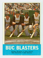 1963 Topps Baseball 18 Buc Blasters Pittsburgh Pirates Excellent to Excellent Plus