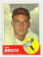 1963 Topps Baseball 24 Bob Bruce Houston Colts Very Good to Excellent