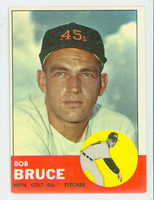 1963 Topps Baseball 24 Bob Bruce Houston Colts Excellent