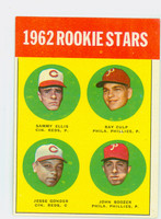 1963 Topps Baseball 29 Rookie Stars 1962  Excellent to Excellent Plus