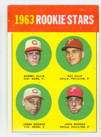 1963 Topps Baseball 29 b Rookie Stars 1963  Excellent to Excellent Plus