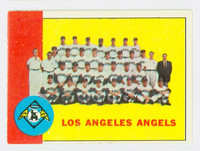 1963 Topps Baseball 39 Angels Team Excellent to Excellent Plus