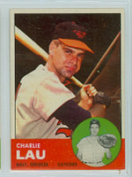 1963 Topps Baseball 41 Charlie Lau Baltimore Orioles Excellent to Mint