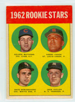 1963 Topps Baseball 54 Rookie Stars 1962  Excellent