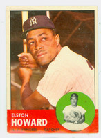 1963 Topps Baseball 60 Elston Howard New York Yankees Very Good