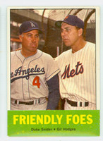 1963 Topps Baseball 68 Friendly Foes Excellent to Mint