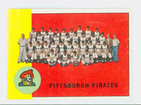 1963 Topps Baseball 151 Pirates Team Very Good to Excellent