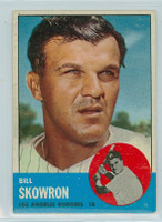 1963 Topps Baseball 180 Bill Skowron Los Angeles Dodgers Very Good to Excellent