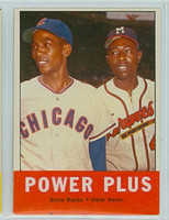1963 Topps Baseball 242 Power Plus Excellent