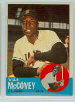 1963 Topps Baseball 490 Willie McCovey Tough Series San Francisco Giants Excellent