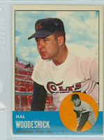 1963 Topps Baseball 517 Hal Woodeshick Tough Series Houston Colts Very Good to Excellent