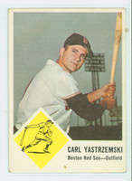 1963 Fleer Baseball 8 Carl Yastrzemski Boston Red Sox Very Good