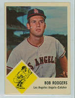 1963 Fleer Baseball 20 Bob Rodgers Los Angeles Angels Excellent