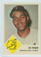1963 Fleer Baseball 23 Vic Power Minnesota Twins Near-Mint