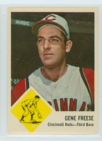 1963 Fleer Baseball 33 Gene Freese Cincinnati Reds Near-Mint