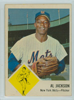 1963 Fleer Baseball 48 Al Jackson New York Mets Very Good