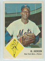 1963 Fleer Baseball 48 Al Jackson New York Mets Near-Mint