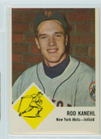 1963 Fleer Baseball 49 Rod Kanehl New York Mets Very Good to Excellent