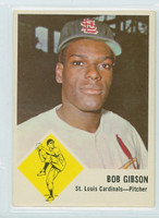 1963 Fleer Baseball 61 Bob Gibson St. Louis Cardinals Near-Mint