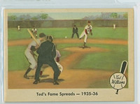 1959 Fleer Ted Williams 5 Fame Spreads Near-Mint to Mint