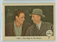1959 Fleer Ted Williams 9 First Step (Joe Cronin) Near-Mint