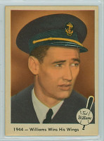 1959 Fleer Ted Williams 23 Wins His Wings Excellent