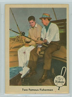 1959 Fleer Ted Williams 67 Ted with Sam Snead Near-Mint