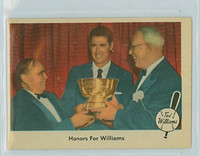 1959 Fleer Ted Williams 78 Honors for Williams Excellent to Excellent Plus