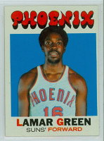 1971 Topps Basketball 39 Lamar Green Pheonix Suns Excellent to Excellent Plus