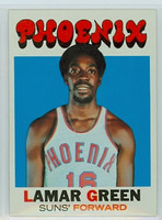 1971 Topps Basketball 39 Lamar Green Pheonix Suns Near-Mint