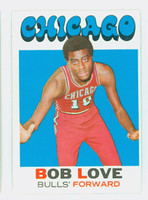 1971 Topps Basketball 45 Bob Love Chicago Bulls Excellent to Excellent Plus