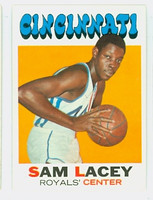 1971 Topps Basketball 57 Sam Lacey ROOKIE Cincinnati Royals Near-Mint Plus
