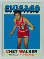 1971 Topps Basketball 66 Chet Walker Chicago Bulls Near-Mint