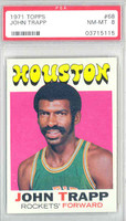 1971 Topps Basketball 68 John Trapp Houston Rockets PSA 8 Near Mint to Mint