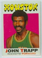 1971 Topps Basketball 68 John Trapp Houston Rockets Near-Mint