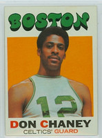 1971 Topps Basketball 82 Don Chaney Boston Celtics Excellent to Mint