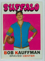 1971 Topps Basketball 84 Bob Kauffman Buffalo Braves Near-Mint