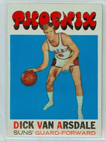 1971 Topps Basketball 85 Dick Van Arsdale Pheonix Suns Near-Mint
