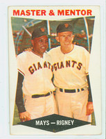 1960 Topps Baseball 7 Master Mentor San Francisco Giants Excellent to Mint