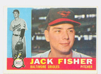 1960 Topps Baseball 46 Jack Fisher Baltimore Orioles Excellent