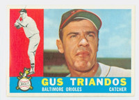 1960 Topps Baseball 60 Gus Triandos Baltimore Orioles Excellent to Excellent Plus