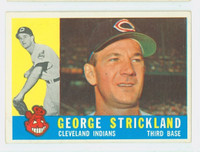 1960 Topps Baseball 63 George Strickland Cleveland Indians Excellent