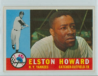 1960 Topps Baseball 65 Elston Howard New York Yankees Excellent to Mint