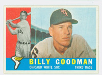 1960 Topps Baseball 69 Billy Goodman Chicago White Sox Excellent